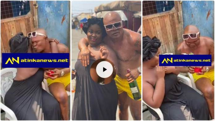Bukom Banku proposes marriage to Patapaa ex girlfriend Queen Peezy