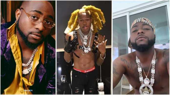 Davido finally replies US rapper who accused him of copying his slang