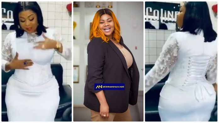 Empress Gifty before and surgery