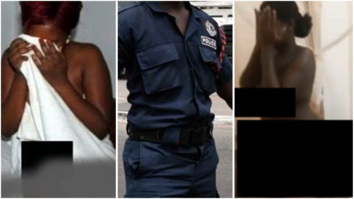 Ghana Police officer catches his wife being sample by another man on valentine's Day