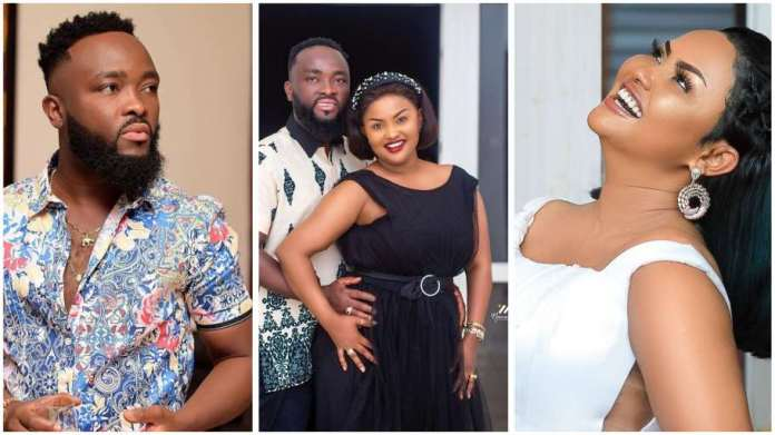 Emotional video of Nana Ama McBrown begging husband not to break up with her drops  [Watch]