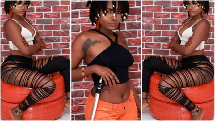 Labena, Ghanaian female musician with both female and male reproductive organs