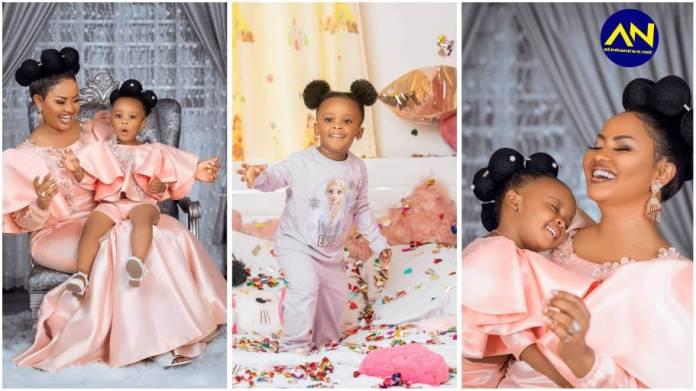 Nana Ama McBrown daughter birthday photos