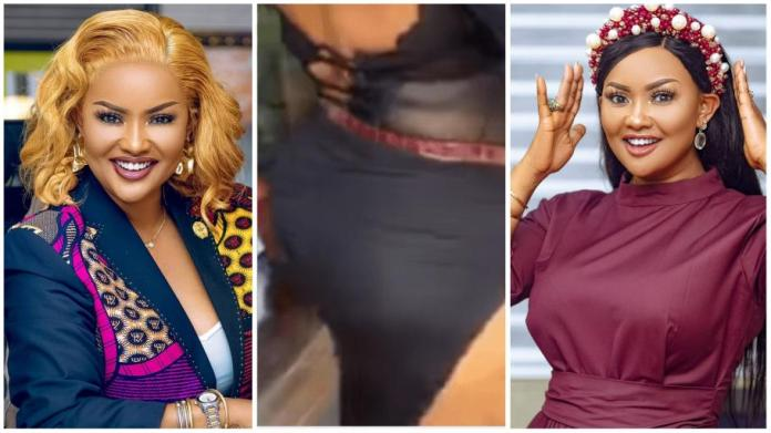 Nana Ama McBrown sparks plastic surgery rumours after flaunting her curves