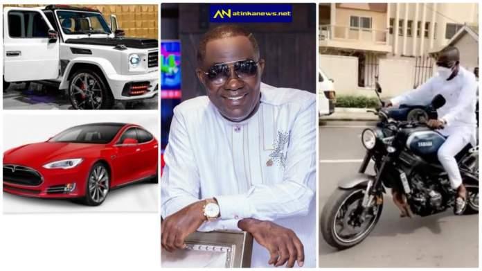 Osei Kwame Despite rides motorcycle