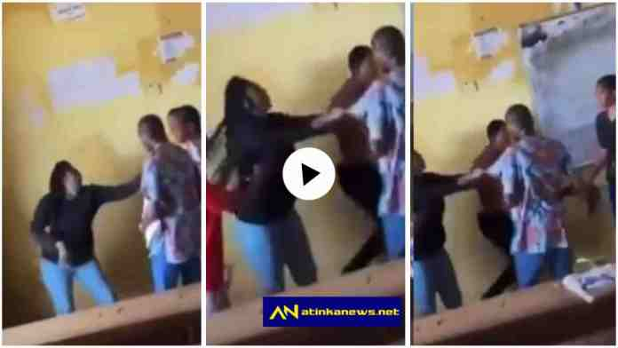 Student beats up lecturer