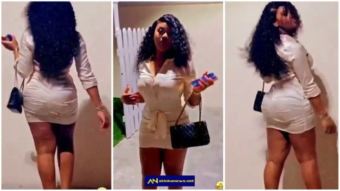 MDavido's Chioma gets netizens talking as she shows off her banging body in new video