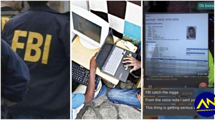 Ghanaian man snitches on his scammer friend to the FBI