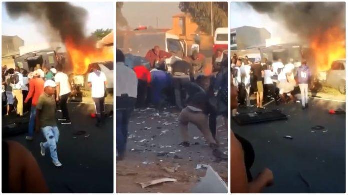 cash-in-transit heist  in Diepkloof, Soweto
