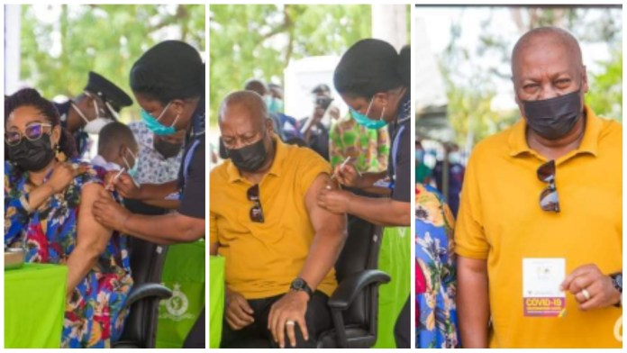 My Pɛn!s is still working, you can ask Lordina – John Mahama speaks after taking his Covid-19 vaccine [Video]