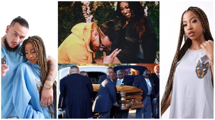Nelli Tembe's body has arrived in Durba