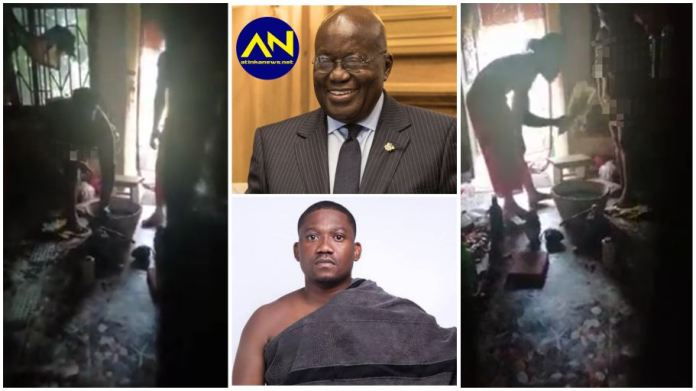 Fetish Priest leaks nude videos of woman who wants Akufo-Addo, Victor Newman dead