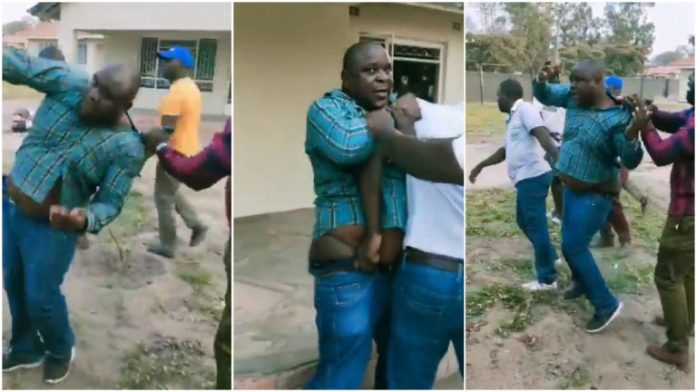Man beaten after being caught trying to sleep with boss' wife