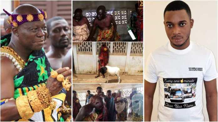 Bechem elders pour libation to invoke curse on Twene Jonas for 'insulting' Asantehene