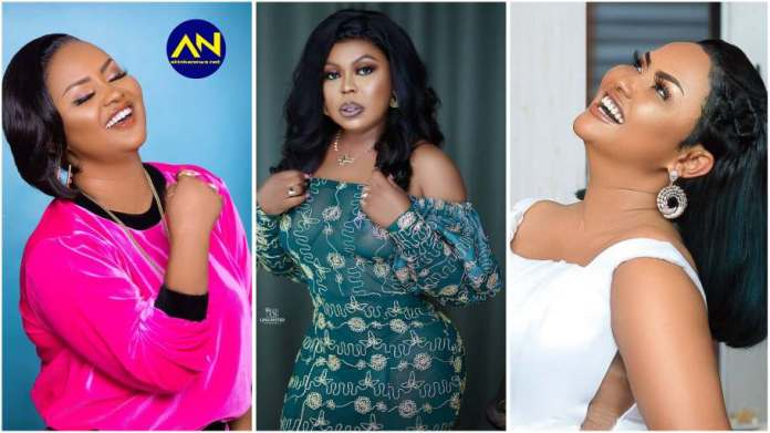Nana Ama McBrown mimics Afia Schwarz while in bed with her husband [video]