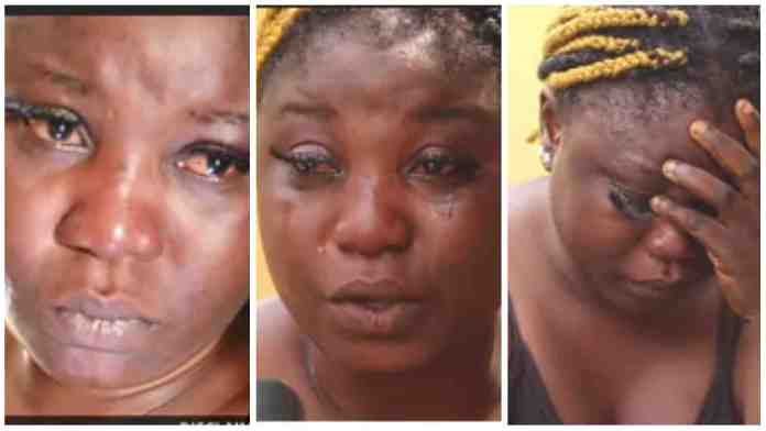 Lady weeps bitterly as she narrates chilling experience in Libya