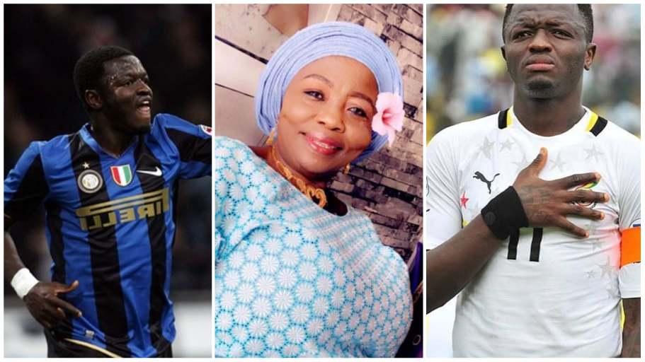 Sulley Muntari loses mother Hajia Kande
