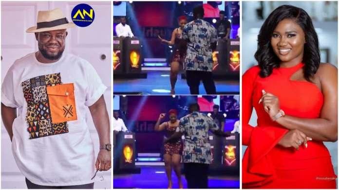 Romantic moment Giovani Caleb introduced Abena Korkor on Date Rush stage [Video]