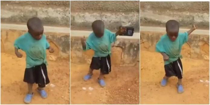 Little kid displays amazing dancing skills in video
