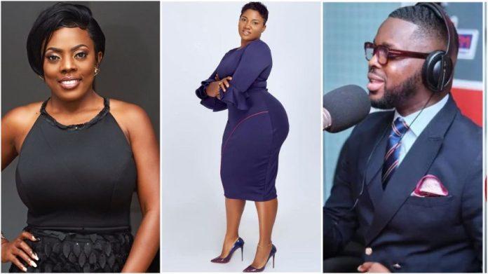 Nana Aba Anamoah finally speaks on Abena Korkor's claims that Kojo Yankson dated her