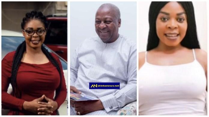Joyce Dzidzor Mensah finally breaks silence on dating John Dramani Mahama [video]