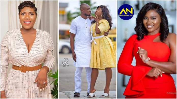 Victoria Lebene finally reacts to Abena Korkor's licking allegation against her husband