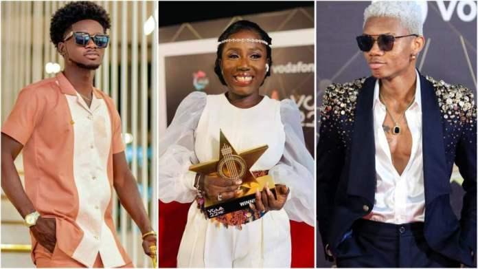VGMA 2021: Diana Hamilton beats Kidi, Eugene to win Artiste of the Year