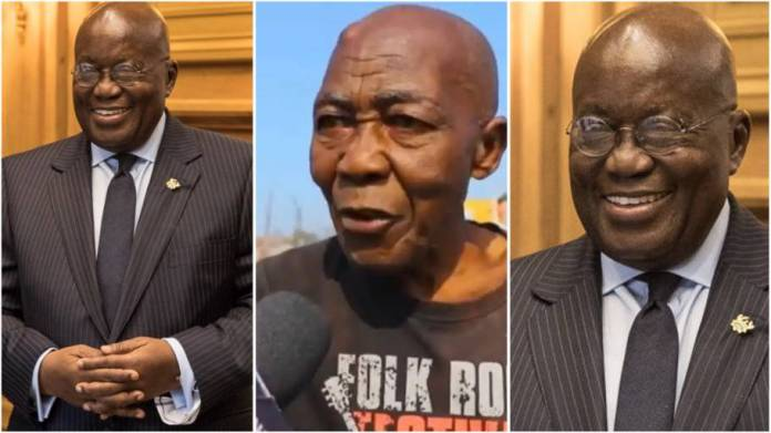 'I used to feed Akufo-Addo but he has demolished my shop' – Old man cries out [video]