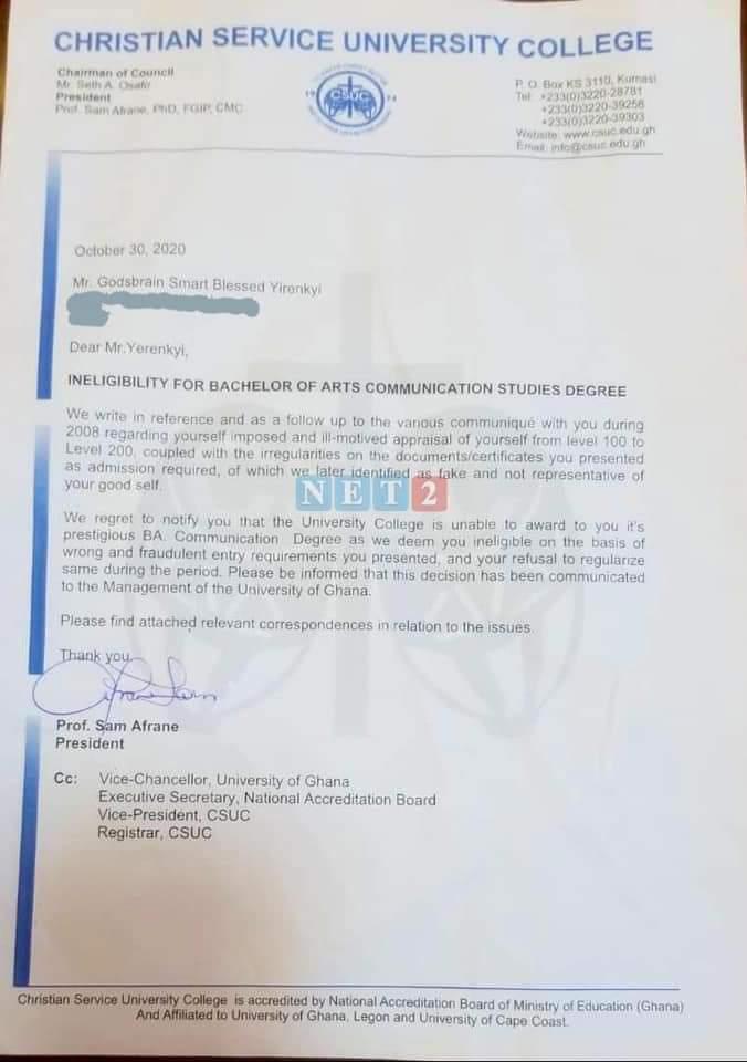 Captain Smart fake certificate