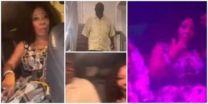 Lady takes mum and dad to nightclub; mum's reaction gets many talking [Video]