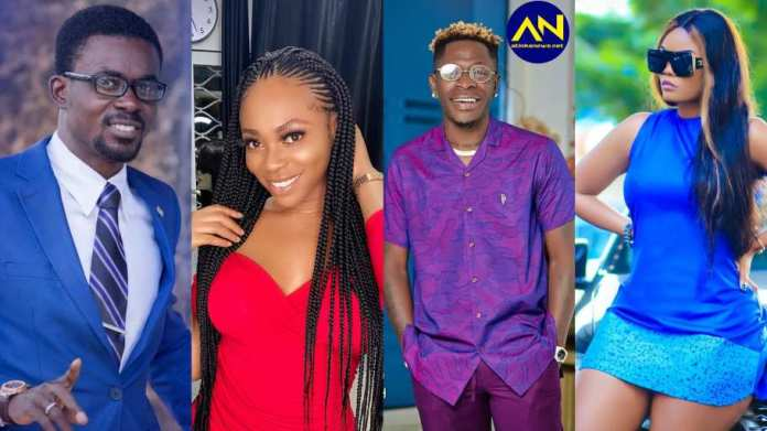 secret videos of how Michy acaused her breakup with Shatta Wale