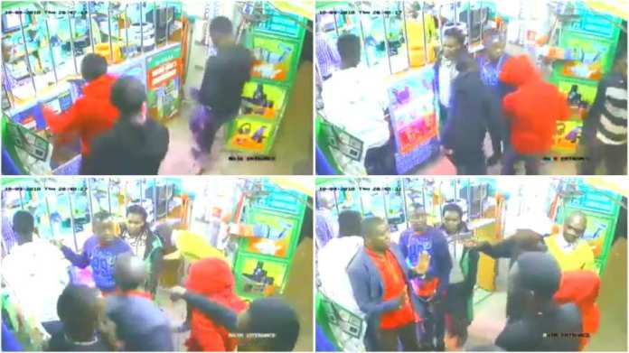 Shocking robbery incident involving armed thugs caught on camera [Watch]