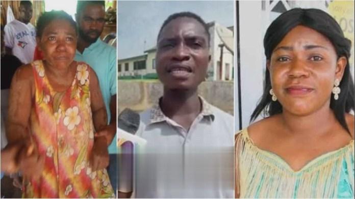 husband of the missing but found Takoradi pregnant woman
