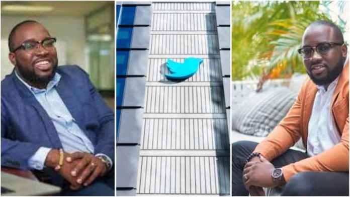 Ghanaian man gets big job at Twitter , company employs him as Its senior partner manager