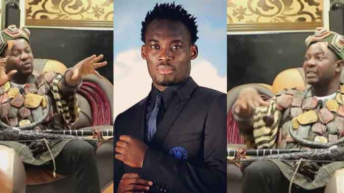 Spiritualist boldly reveals how and why he caused Michael Essien's downfall