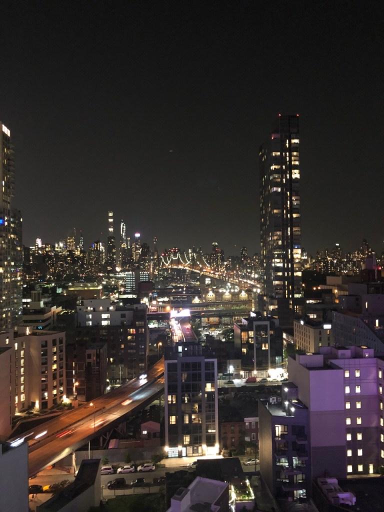 view from Aloft Long Island City Manhattan View