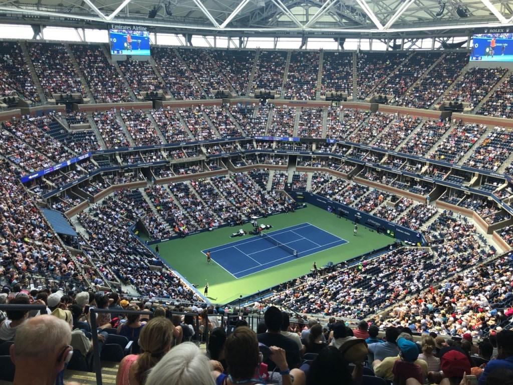 arthur ashe stadium at usta billie jean king tennis center