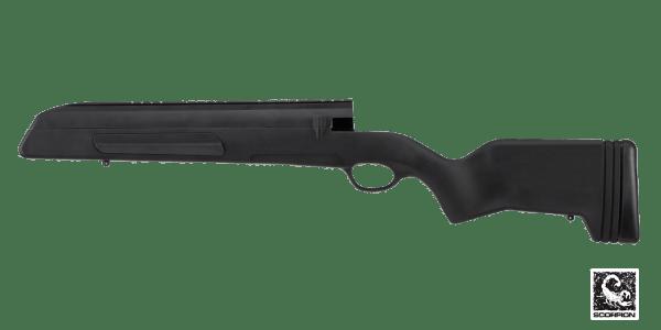 Mauser 98 Stock - Black