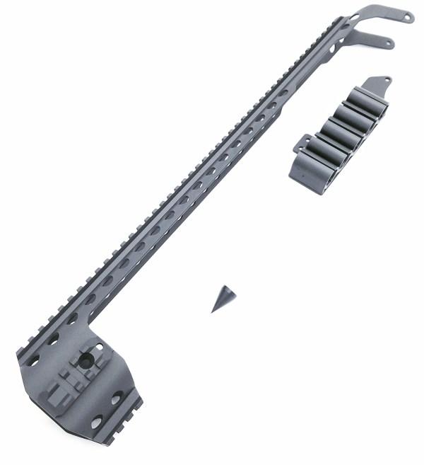 Shockwave Quad Rail and Side Shell Holder