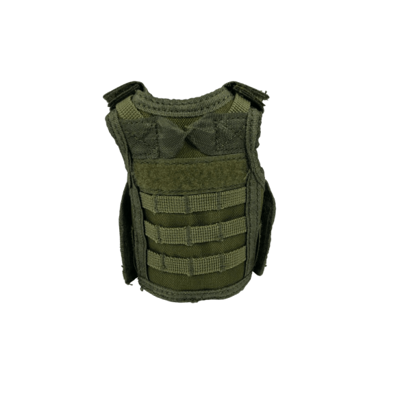 Drab Green Tactical Vest Drink Cooler