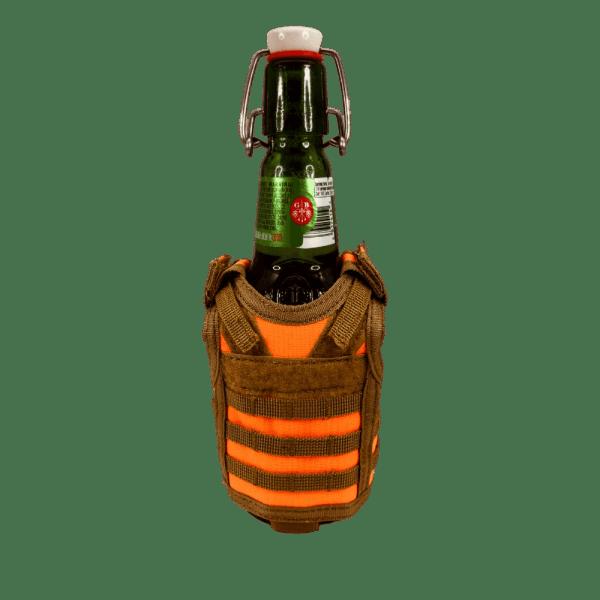 Blaze Orange Hunting Vest Drink Cooler