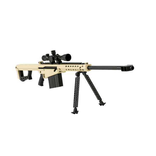 .50 Cal FDE Rifle, 1/3 Scale Replica