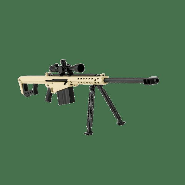 .50 Cal FDE Rifle, 1/3 Scale Replica