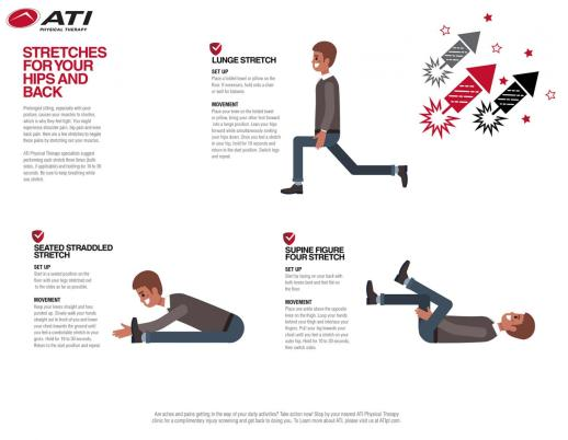Stretches for Your Hips and Back