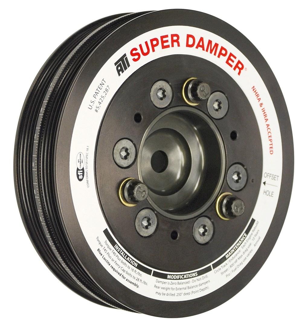 medium resolution of dodge srt4 super street damper