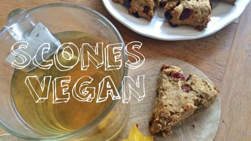 scones vegan
