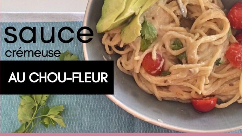 sauce au chou-fleur - - recettes végétariennes et vegan - atirelarigot