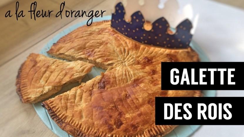 galette des rois à la fleur d oranger vegan - recettes végétariennes et vegan - atirelarigot