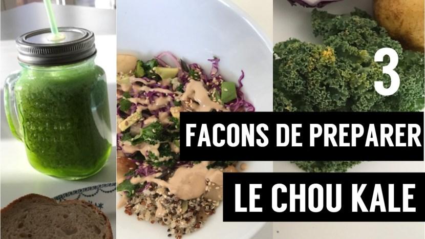 chou kale - recettes végétariennes et vegan - atirelarigot
