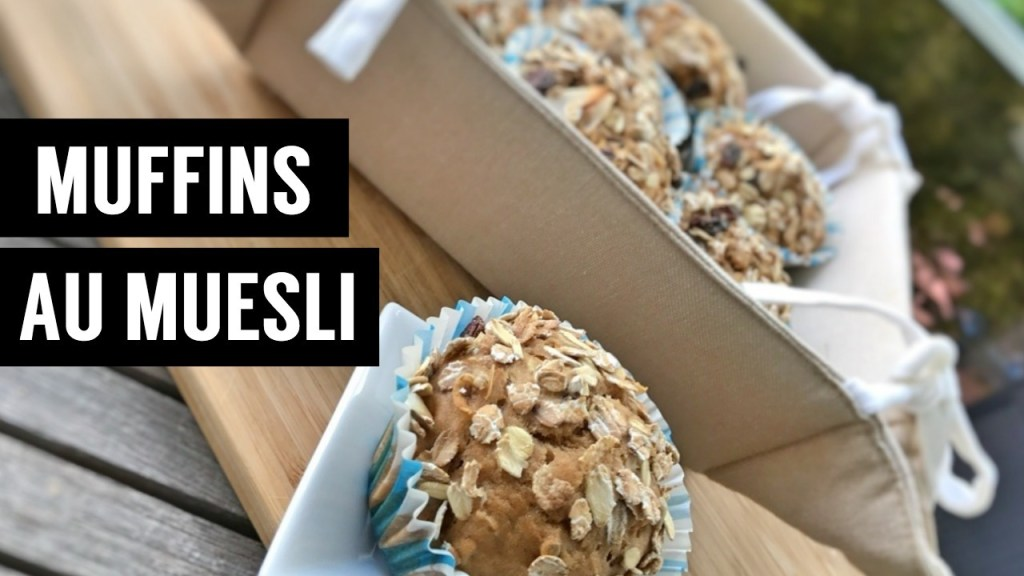 muffins au muesli 4 recettes à base de muesli - recettes végétariennes et vegan - atirelarigot
